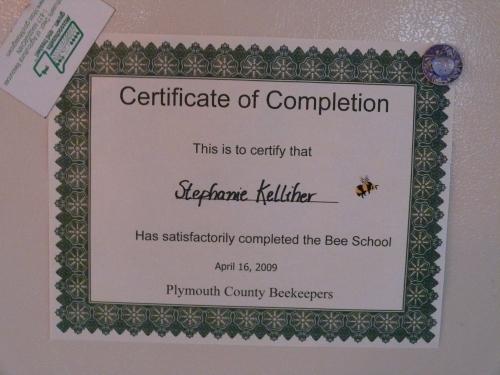 Congratulations Steph!